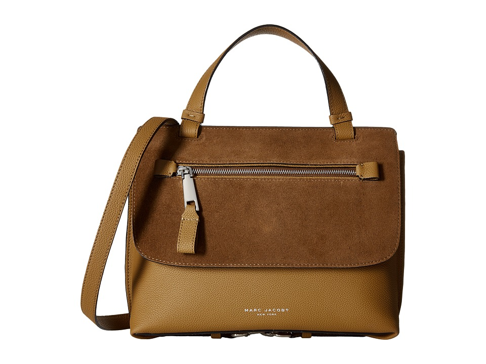 Marc Jacobs - The Waverly Small Top-Handle (Maple Tan) Handbags