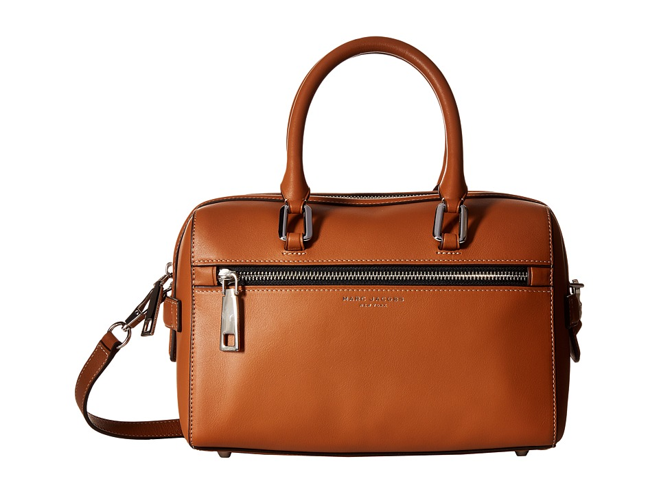 Marc Jacobs - West End Small Bauletto (Maple Tan) Satchel Handbags