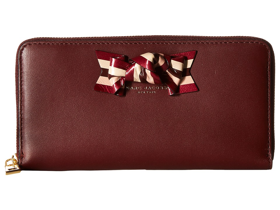 Marc Jacobs - Bow Standard Continental Wallet (Rubino) Continental Wallet