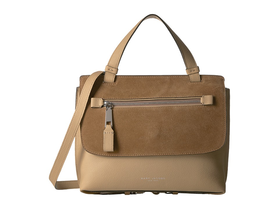Marc Jacobs - The Waverly Small Top-Handle (Camel) Handbags