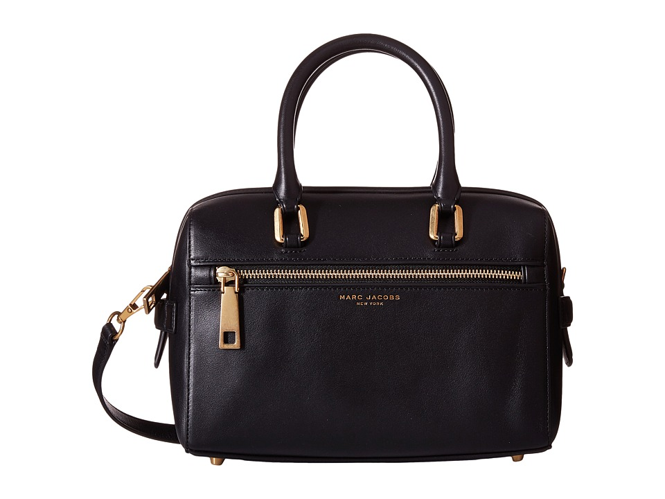 Marc Jacobs - West End Small Bauletto (Black) Satchel Handbags