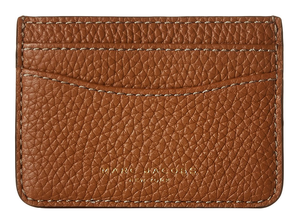 Marc Jacobs - Gotham Card Case (Maple Tan) Credit card Wallet
