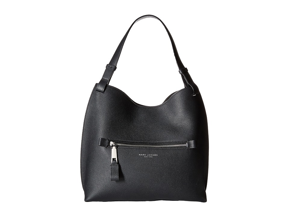Marc Jacobs - The Waverly Small Hobo (Black) Hobo Handbags