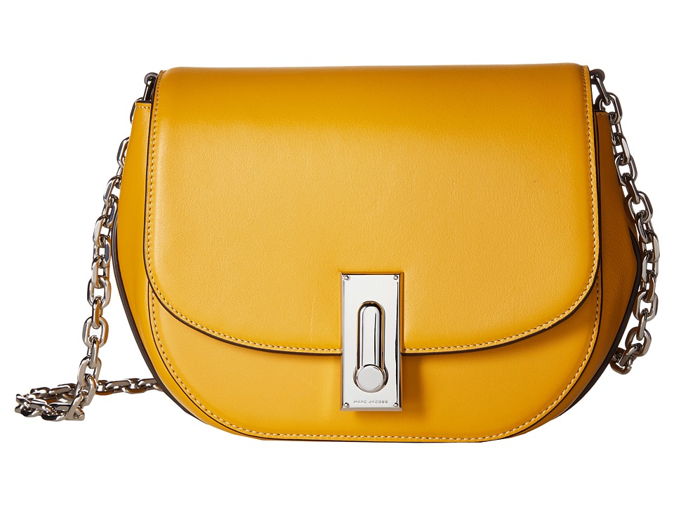 Marc Jacobs - West End The Jane Crossbody (Spicy Mustard) Cross Body Handbags