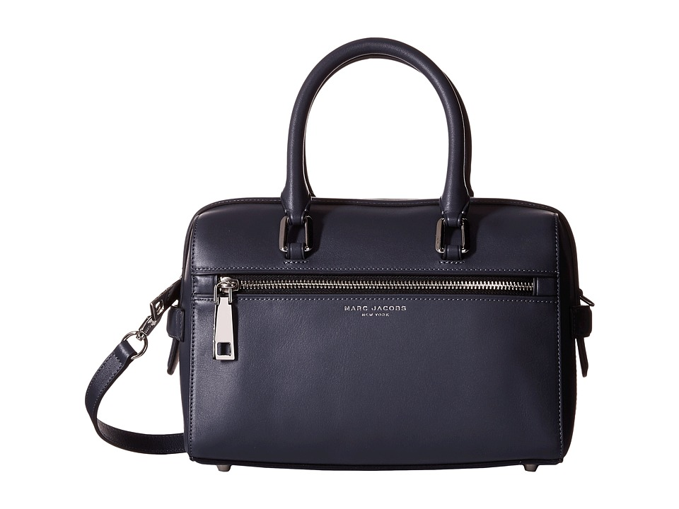 Marc Jacobs - West End Small Bauletto (Storm Grey) Satchel Handbags