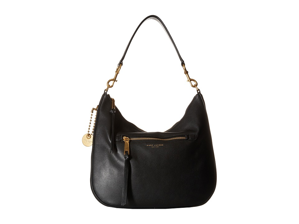 Marc Jacobs - Recruit Hobo (Black) Hobo Handbags