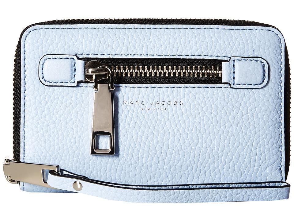 Marc Jacobs - Gotham Zip Phone Wristlet (Cielo) Wristlet Handbags