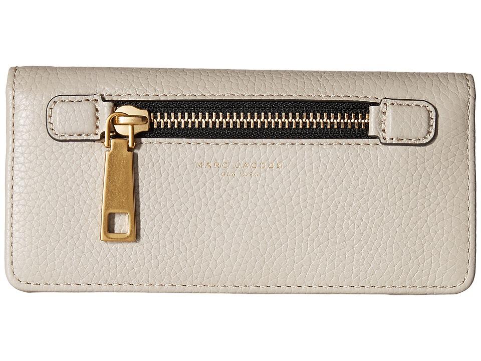 Marc Jacobs - Gotham Open Face Wallet (Pebble) Wallet Handbags