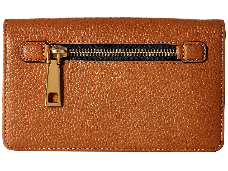 Marc Jacobs - Gotham Wallet Leather Strap (Maple Tan) Wallet Handbags