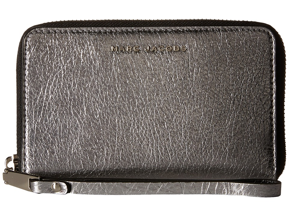 Marc Jacobs - Wingman Zip Phone Wristlet (Acciaio Multi) Wristlet Handbags