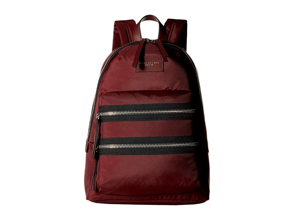 Marc Jacobs - Nylon Biker Backpack (Rubino) Backpack Bags