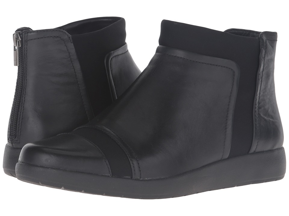 Rockport Devona Darina (Black Leather) Women