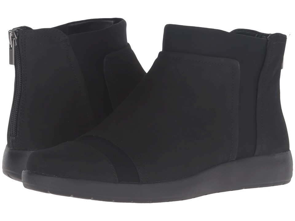 Rockport - Devona Darina (Black Nubuck) Women's Boots