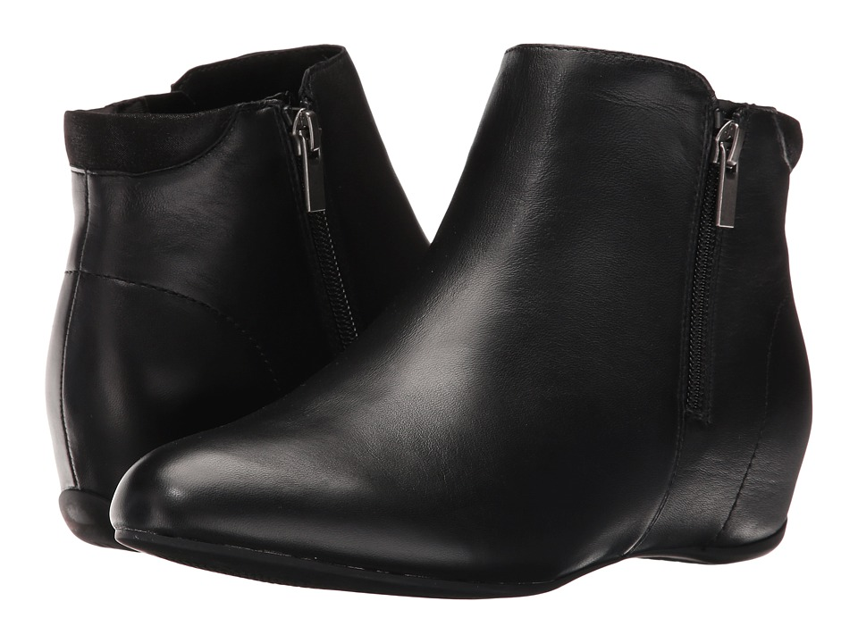 Rockport - Total Motion Emese (Black Leather) Women's Boots