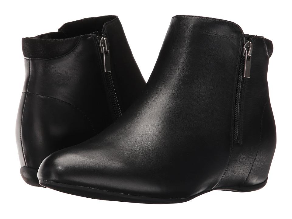 Rockport Total Motion Emese (Black Leather) Women