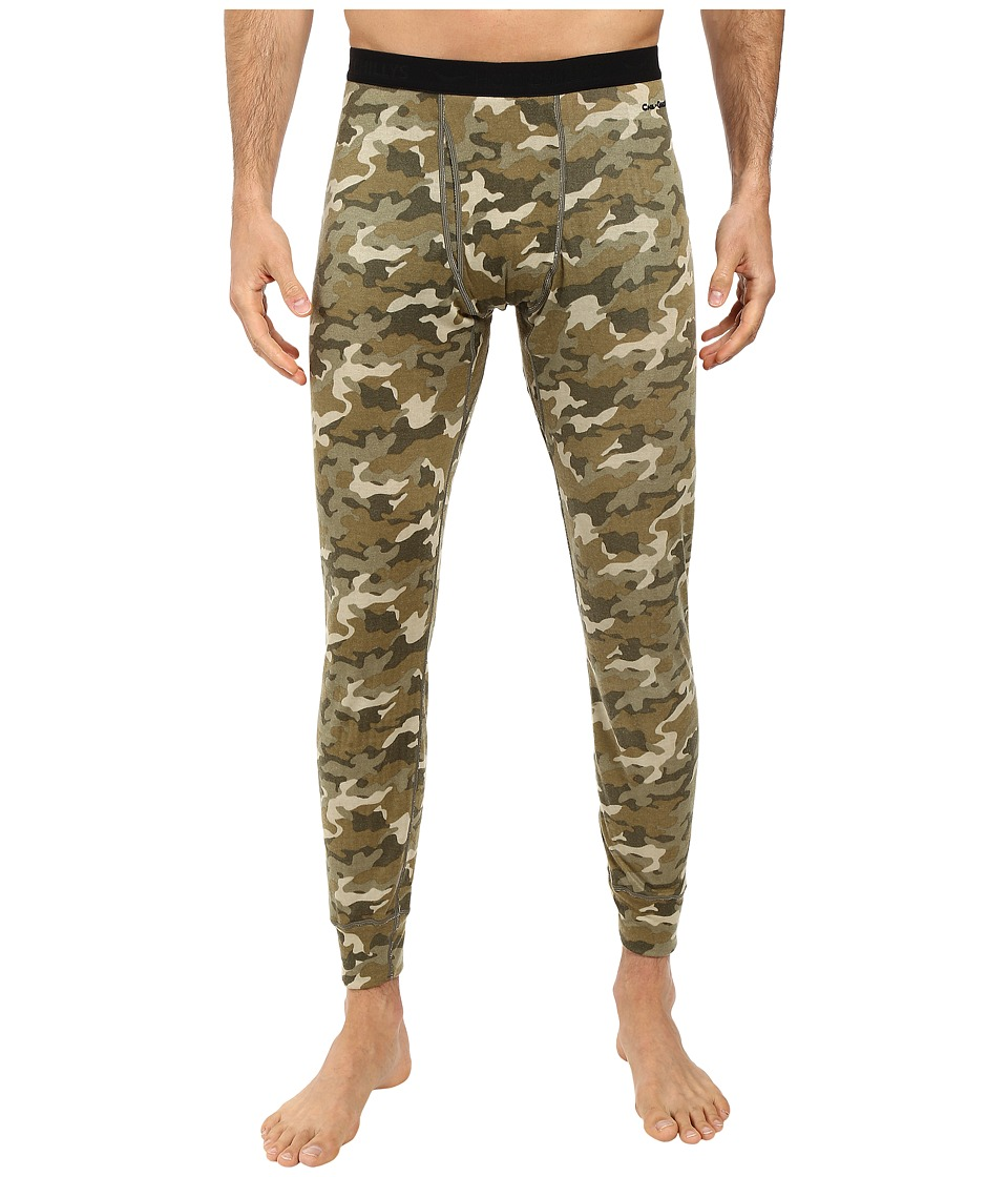 Hot Chillys - Double Layer Fly Bottom (Camo) Men's Clothing