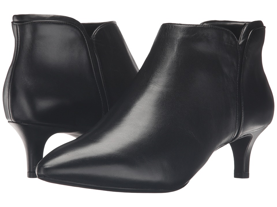 Rockport - Total Motion Kalila Bootie (Black Leather) Women's Boots