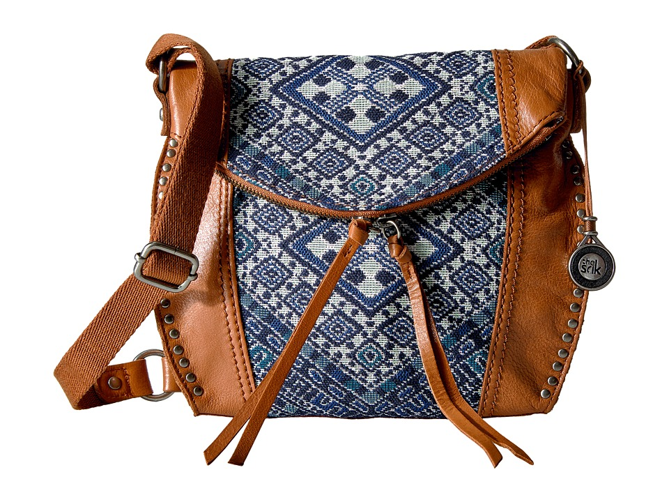 The Sak - Silverlake Crossbody (Blue Diamond) Cross Body Handbags
