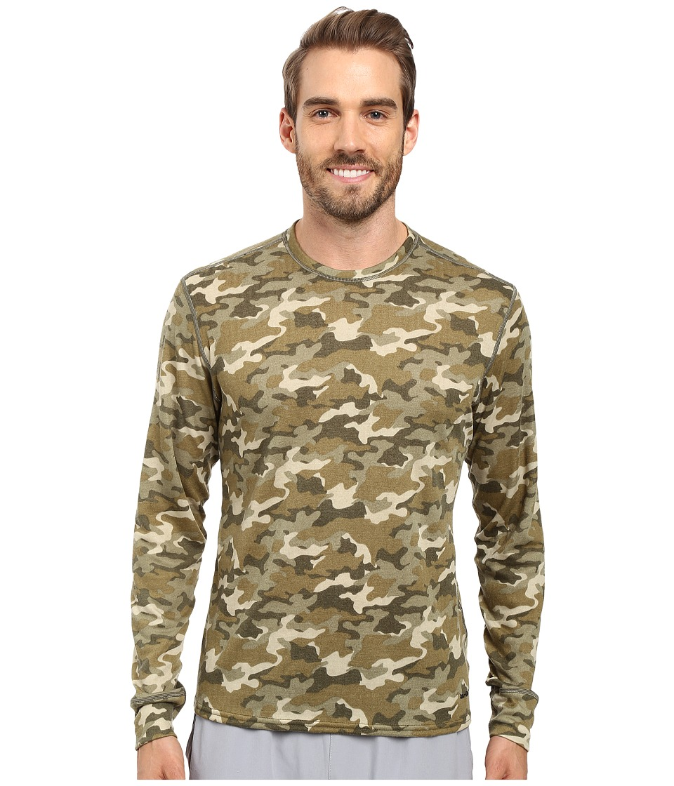 Hot Chillys - Double Layer Crew Neck (Camo) Men's Clothing