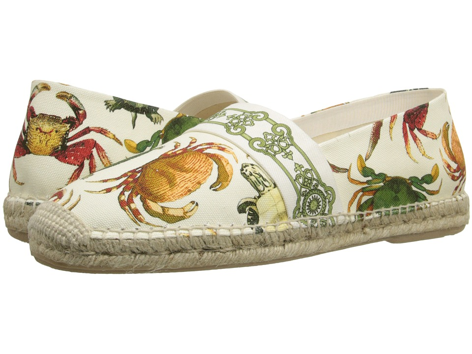 Versace Collection - Sea Creature Printed Espadrille (Print White) Men's Shoes
