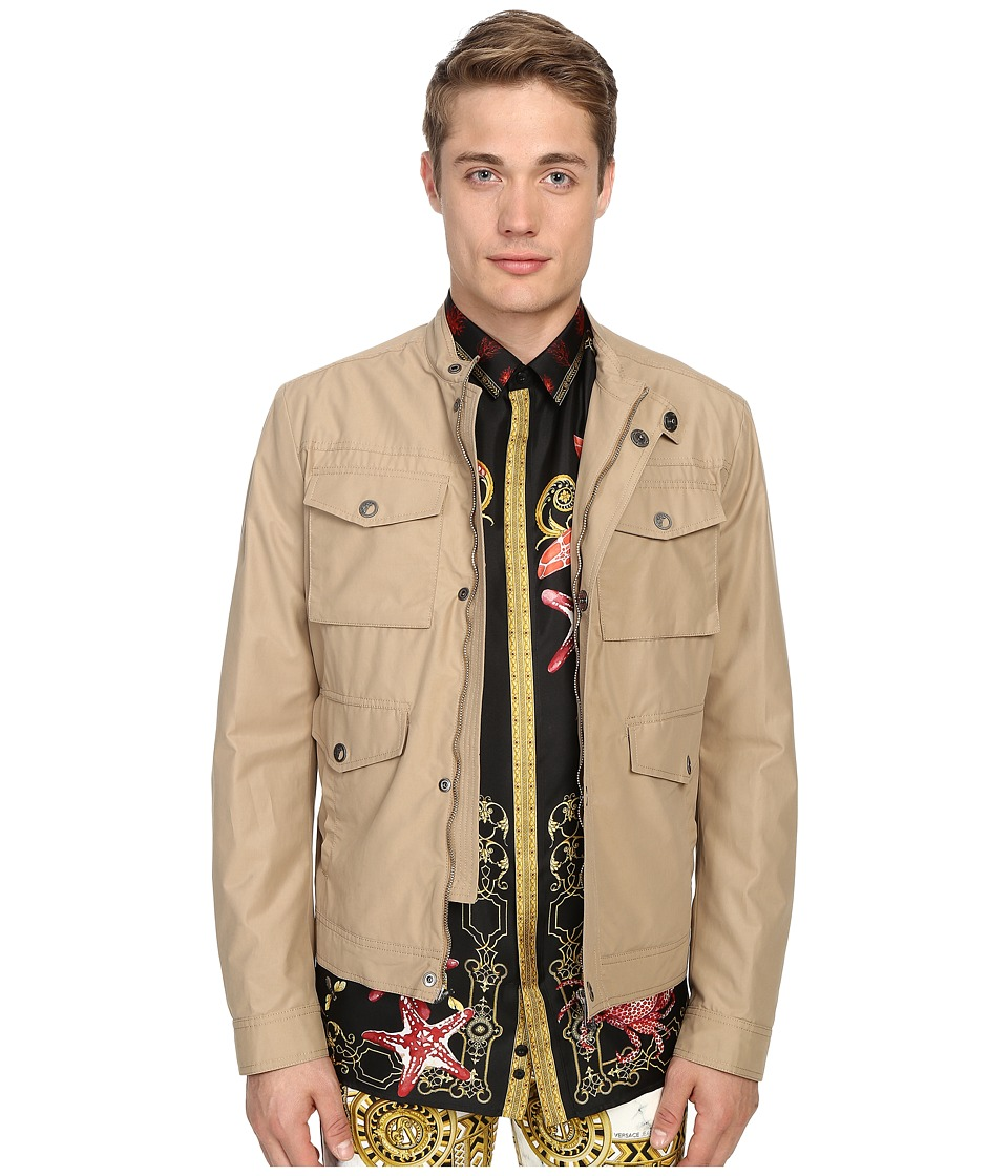 Versace Collection - Four-Pocket Jacket (Sabbia) Men's Coat
