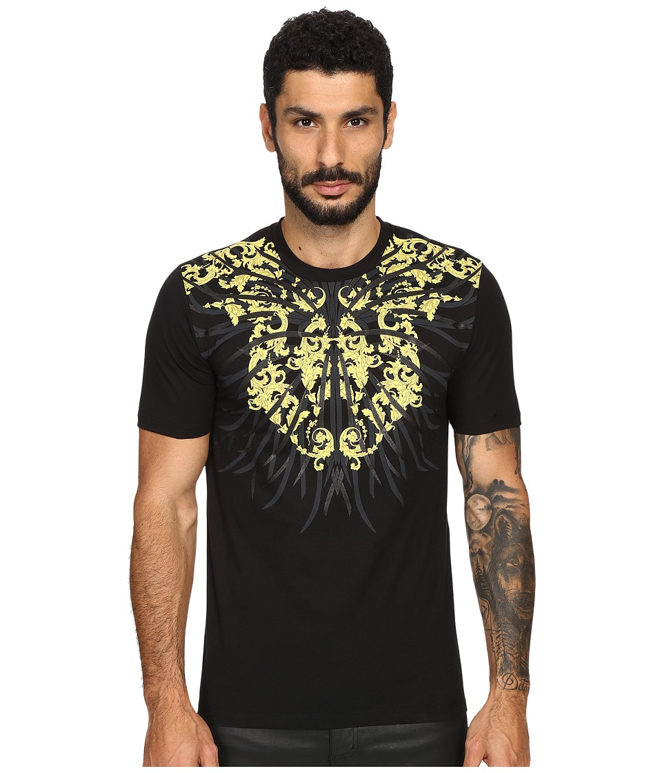 Versace Collection - Sea Roots T-Shirt (Print Black) Men's T Shirt