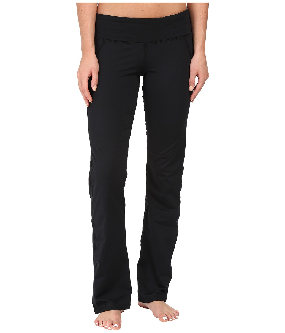 Hot Chillys - MTF Flex Flare Pants (Black/Black) Women's Casual Pants