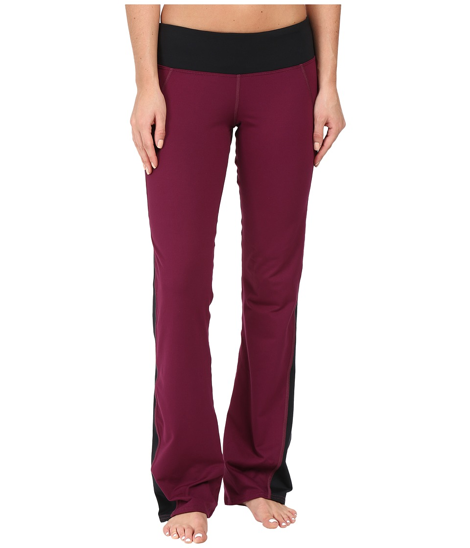 Hot Chillys - MTF Flex Flare Pants (Viola/Black) Women's Casual Pants