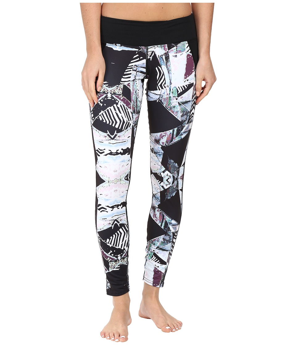 Hot Chillys - MTF Flex Sublimated Print Tights (Live Wire/Black) Women's Casual Pants