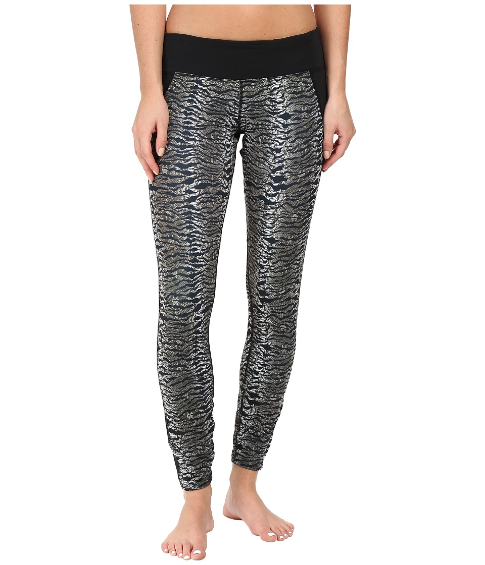 Hot Chillys - MTF Flex Sublimated Print Tights (Wild/Black) Women's Casual Pants