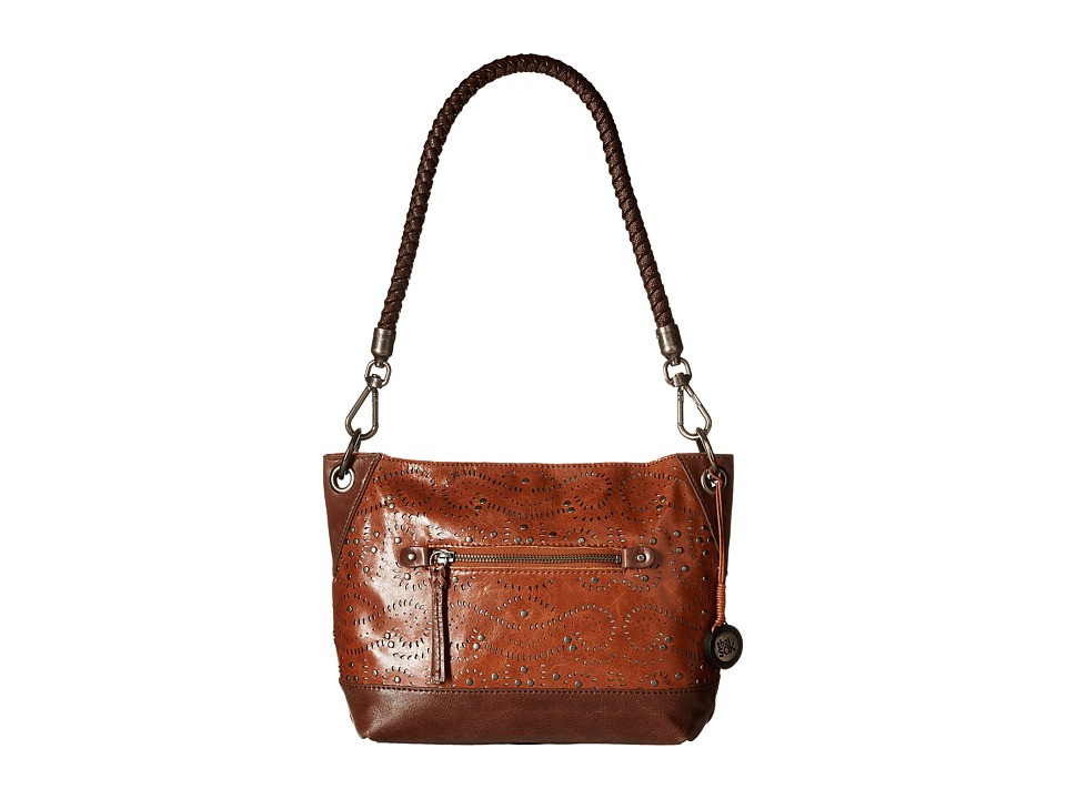 The Sak - Indio Leather Demi (Tobacco Swirl) Shoulder Handbags