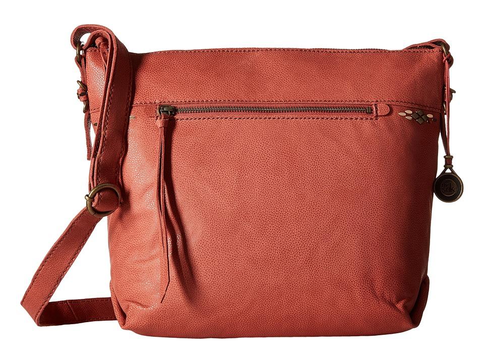 The Sak - Sierra Small Bucket (Sienna) Satchel Handbags