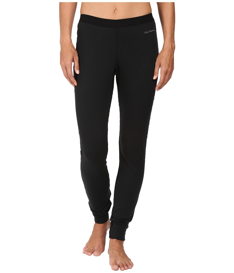Hot Chillys - Double Layer Bottom (Black) Women's Clothing