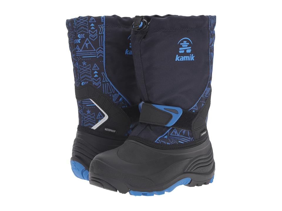Kamik Kids Sleet 2 (Toddler/Little Kid/Big Kid) (Navy/Blue) Boys Shoes