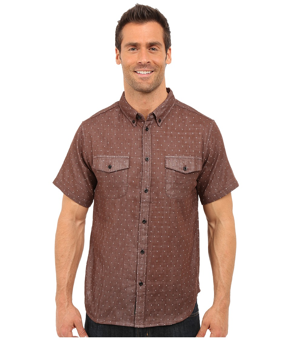 United By Blue - Clark Dot (Brown) Men's Clothing
