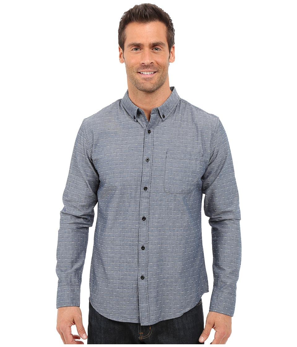 United By Blue - Osprey Button Down (Navy Bird) Men's Clothing