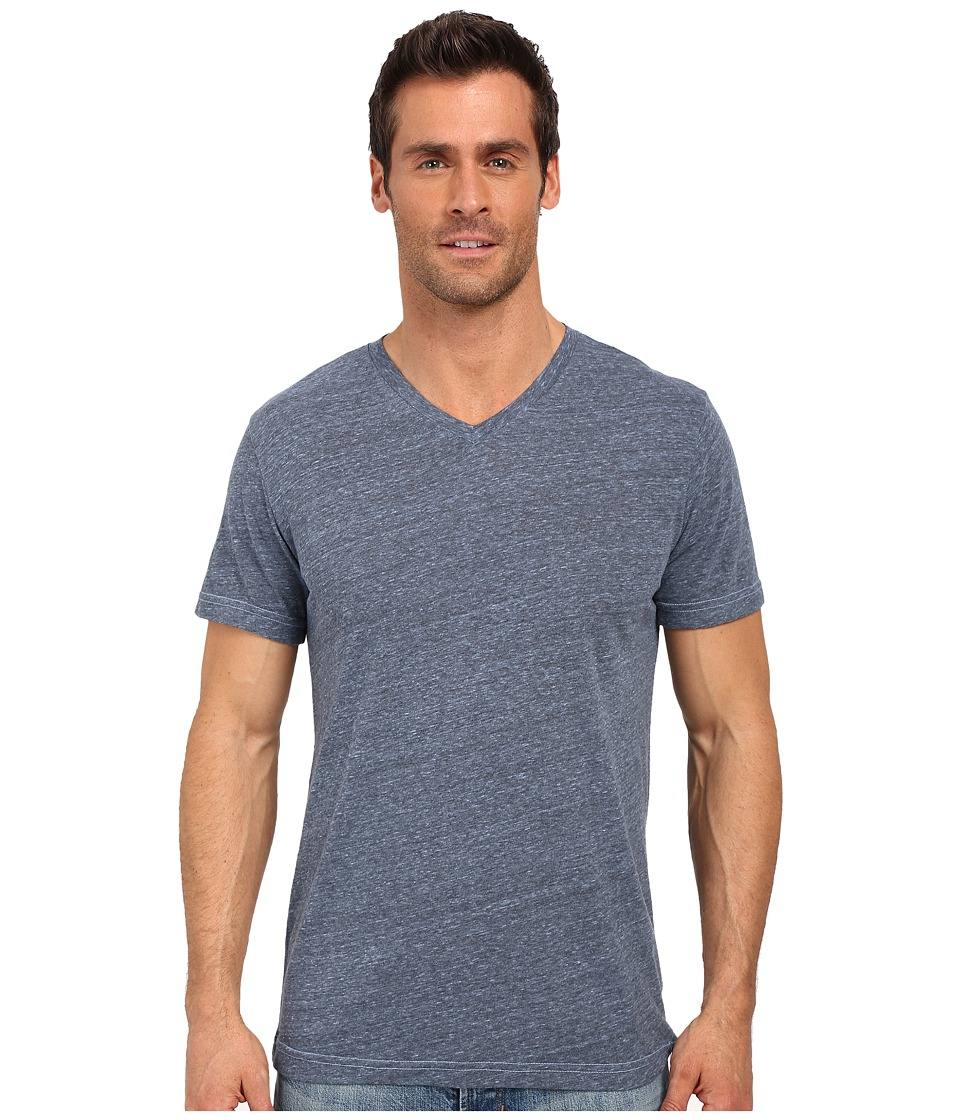 United By Blue - Standard V-Neck (Blue) Men's Clothing