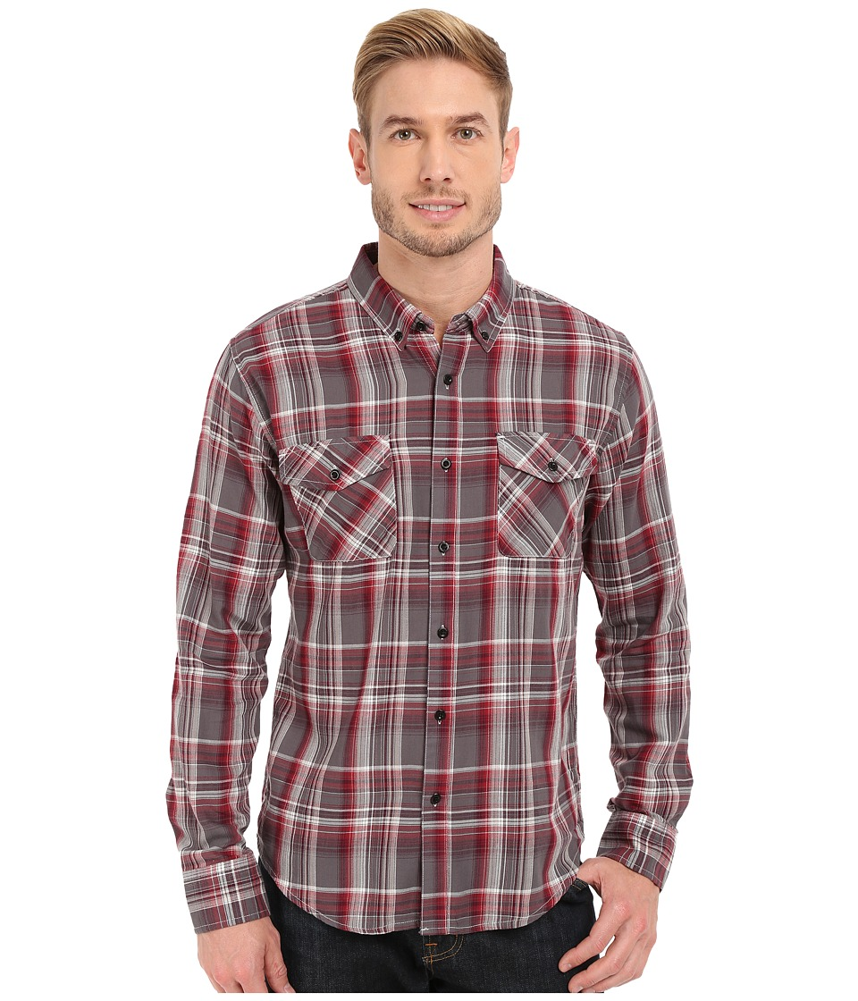 United By Blue - Rothwell Plaid (Red/Grey) Men's Clothing