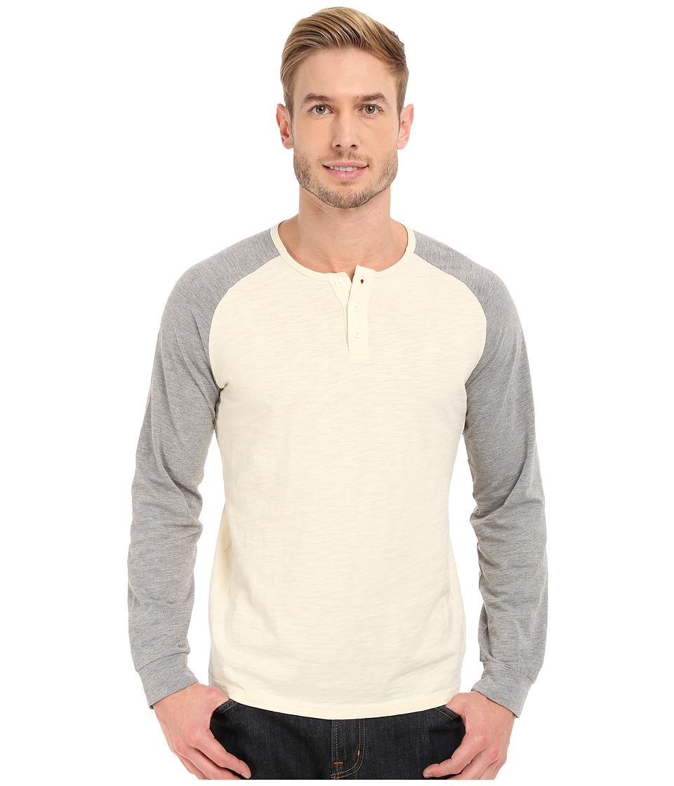 United By Blue - Ludlow Henley (Cream/Gray) Men's Clothing