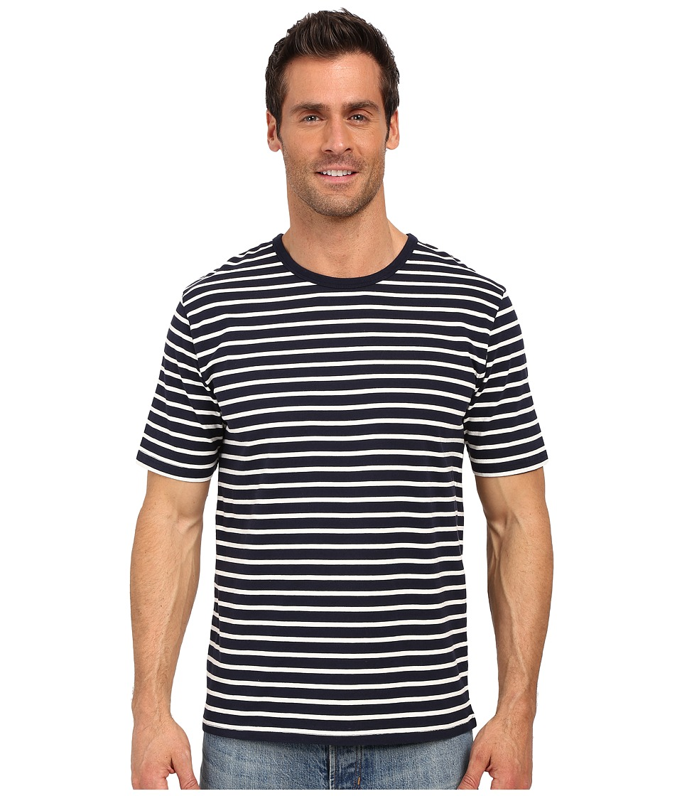 United By Blue - Croydon Stripe (Navy) Men's Clothing