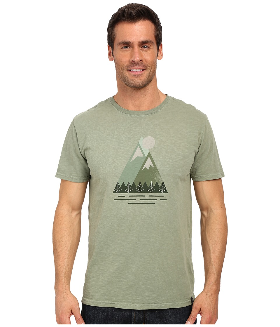 United By Blue - Triangle Peak (Green) Men's Clothing