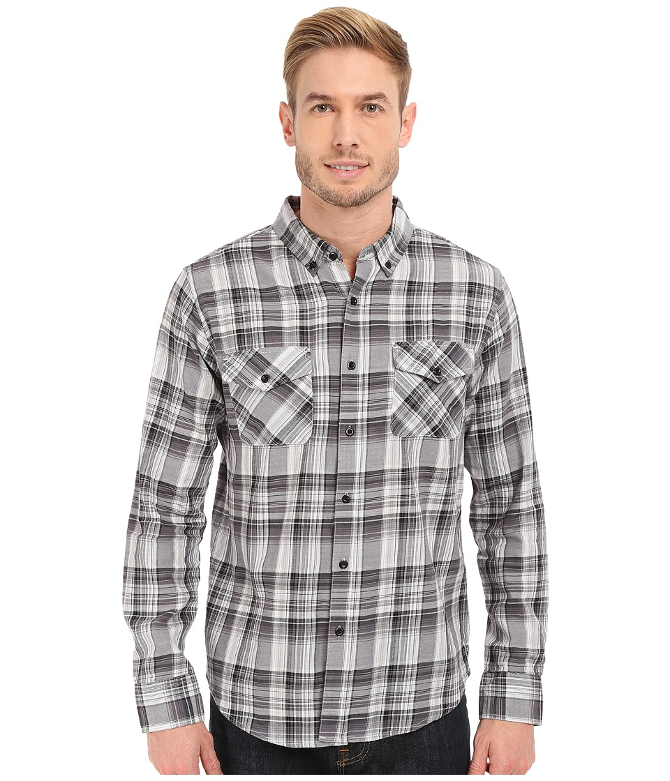 United By Blue - Rothwell Plaid (Black/White) Men's Clothing
