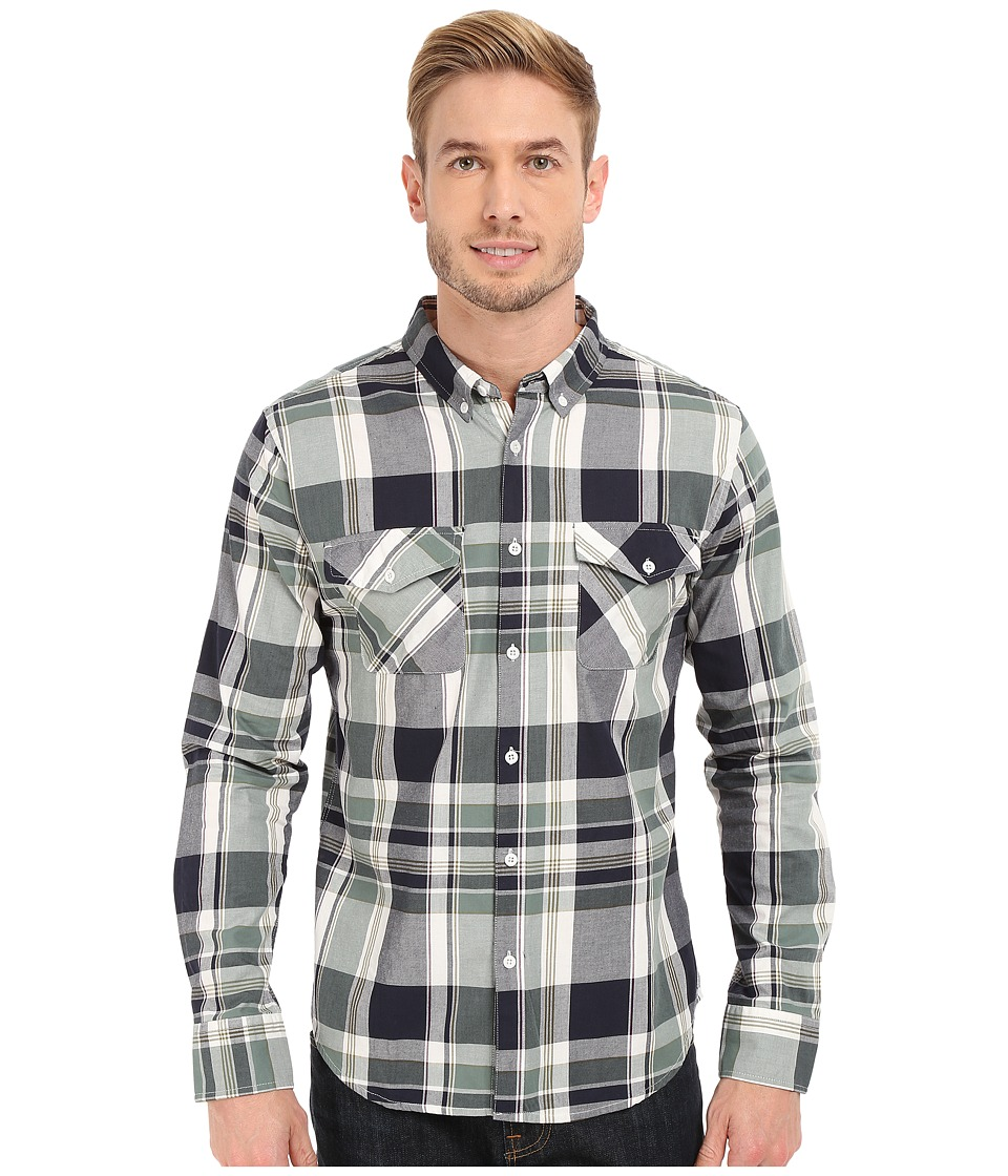 United By Blue - South Plaid (Green/Olive) Men's Clothing
