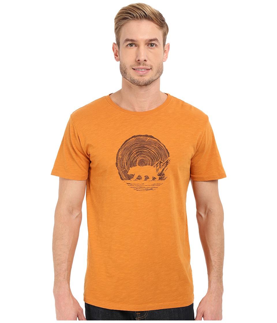 United By Blue - Woodgrain Bear (Golden Oak) Men's Clothing