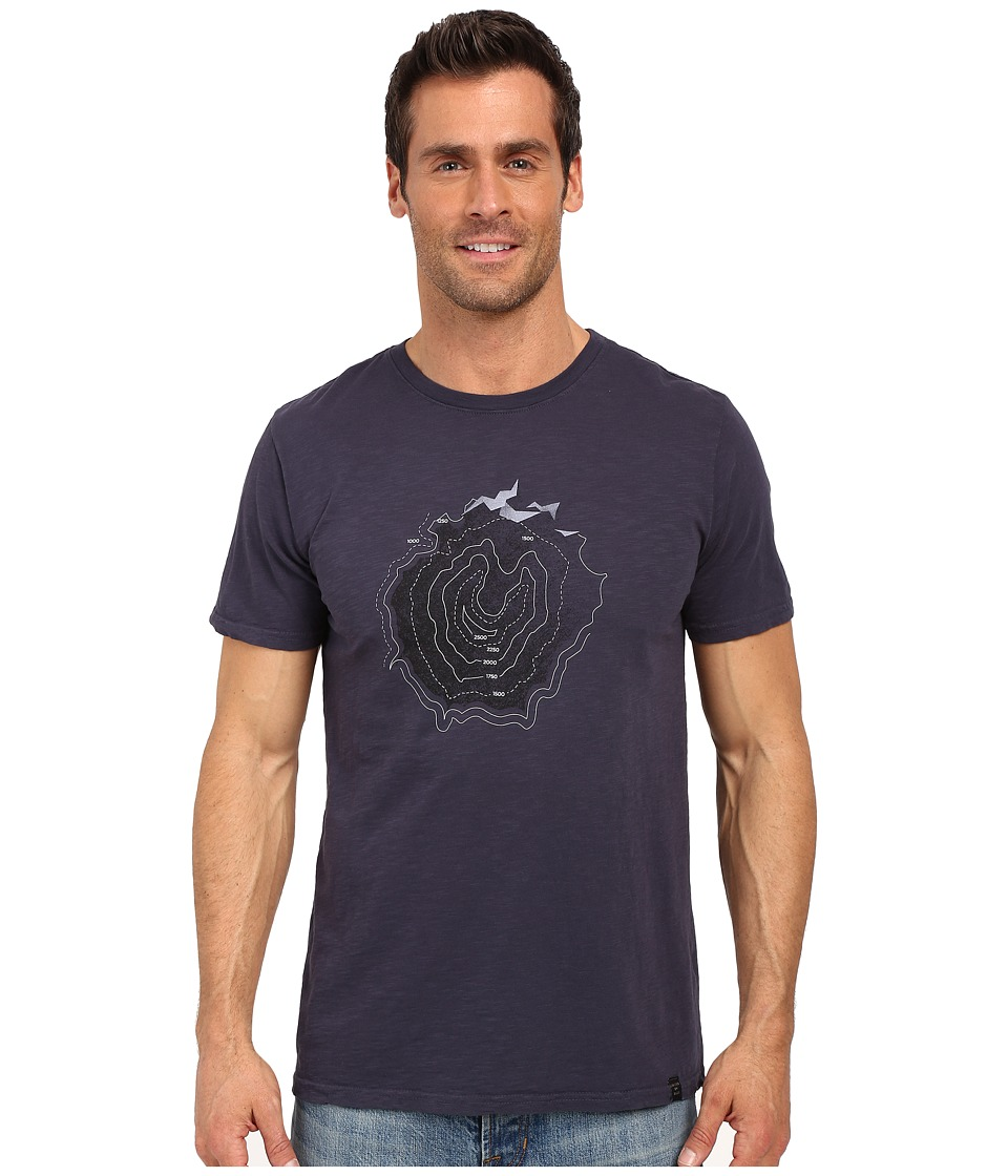 United By Blue - Topography (Navy) Men's Clothing