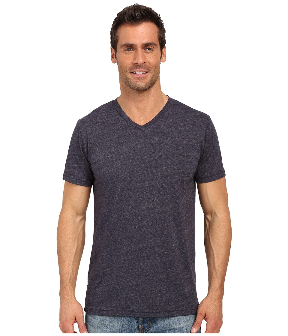 United By Blue - Standard V-Neck (Navy) Men's Clothing