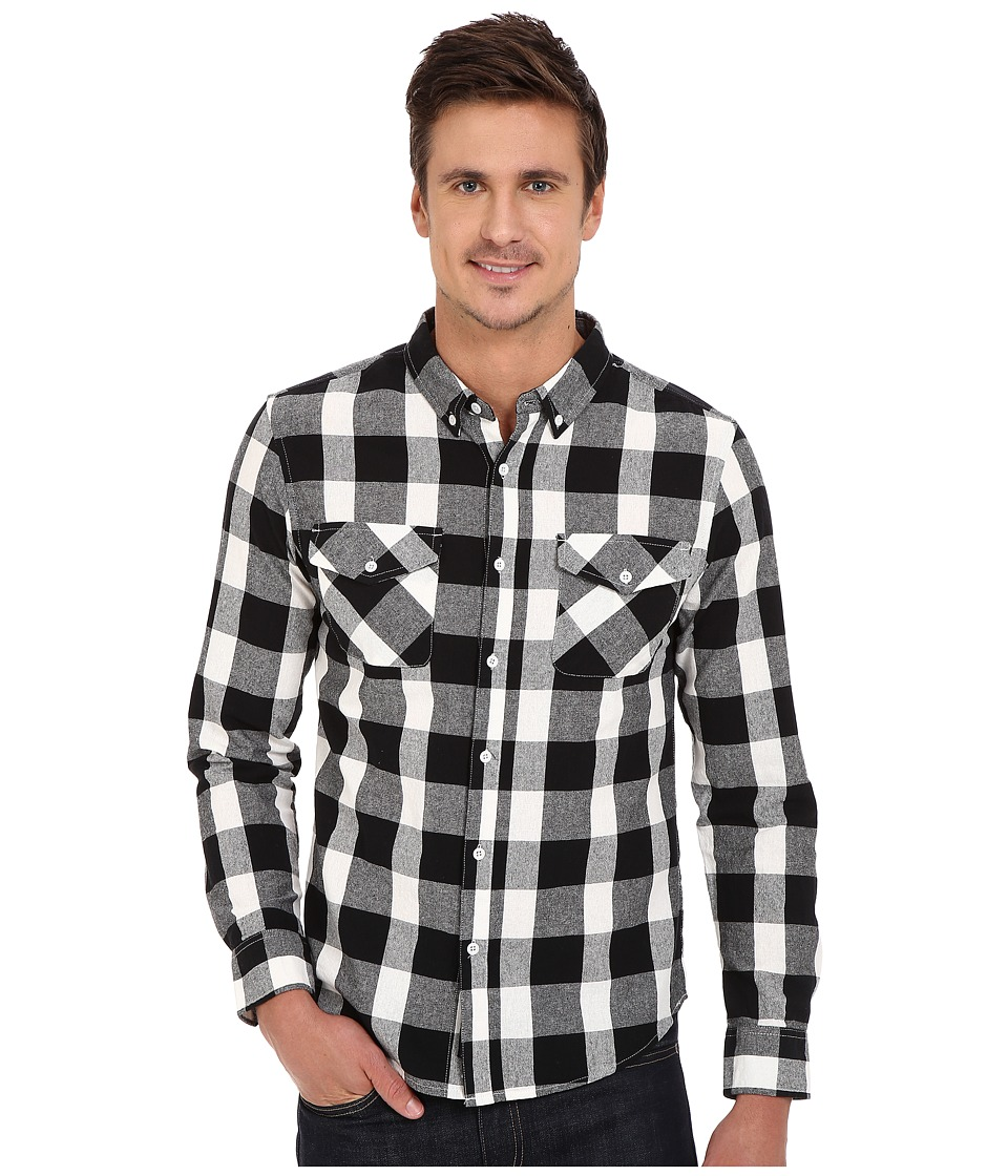 United By Blue - Sansom Plaid (Black) Men's Clothing