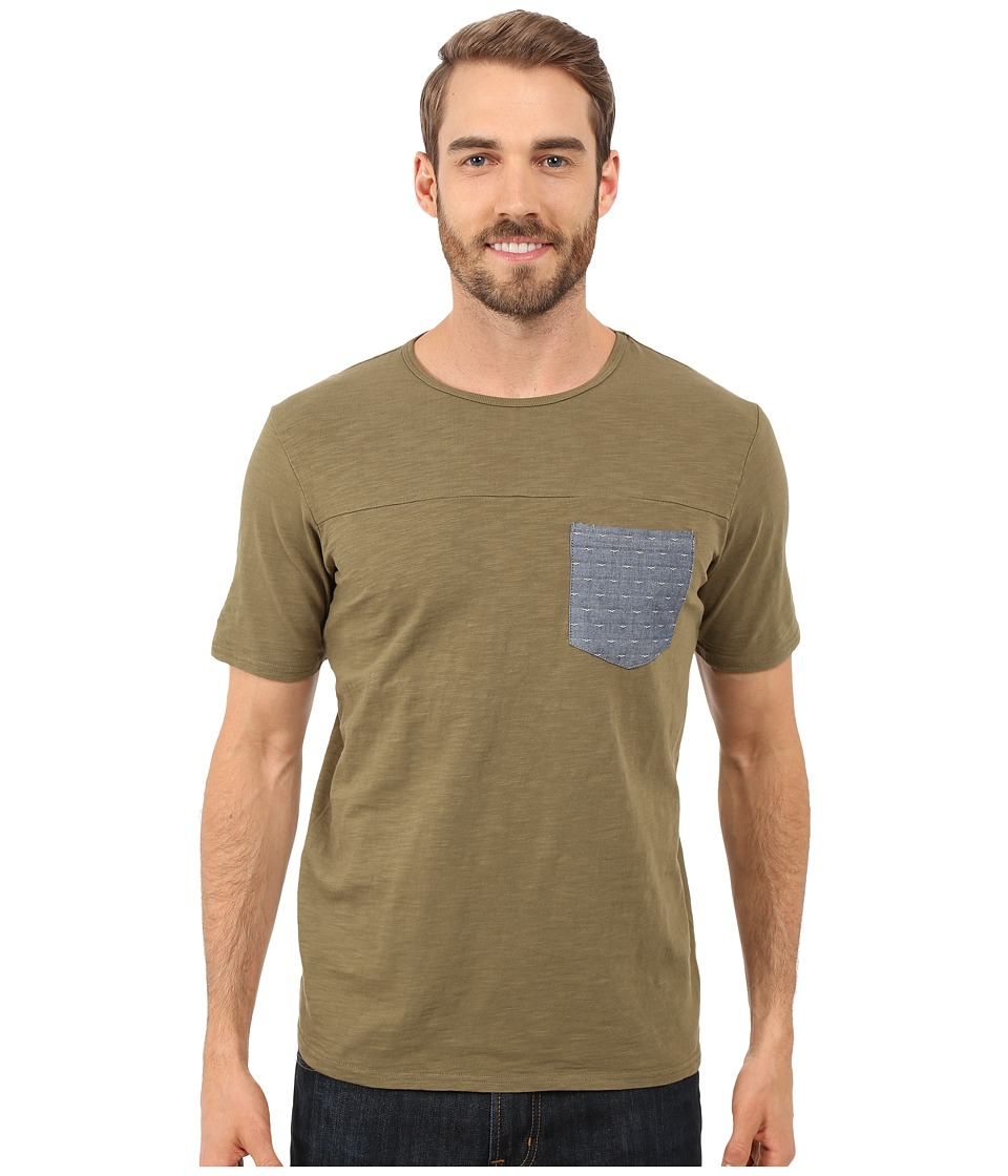 United By Blue - Pattern Pocket Shirt (Green) Men's Clothing