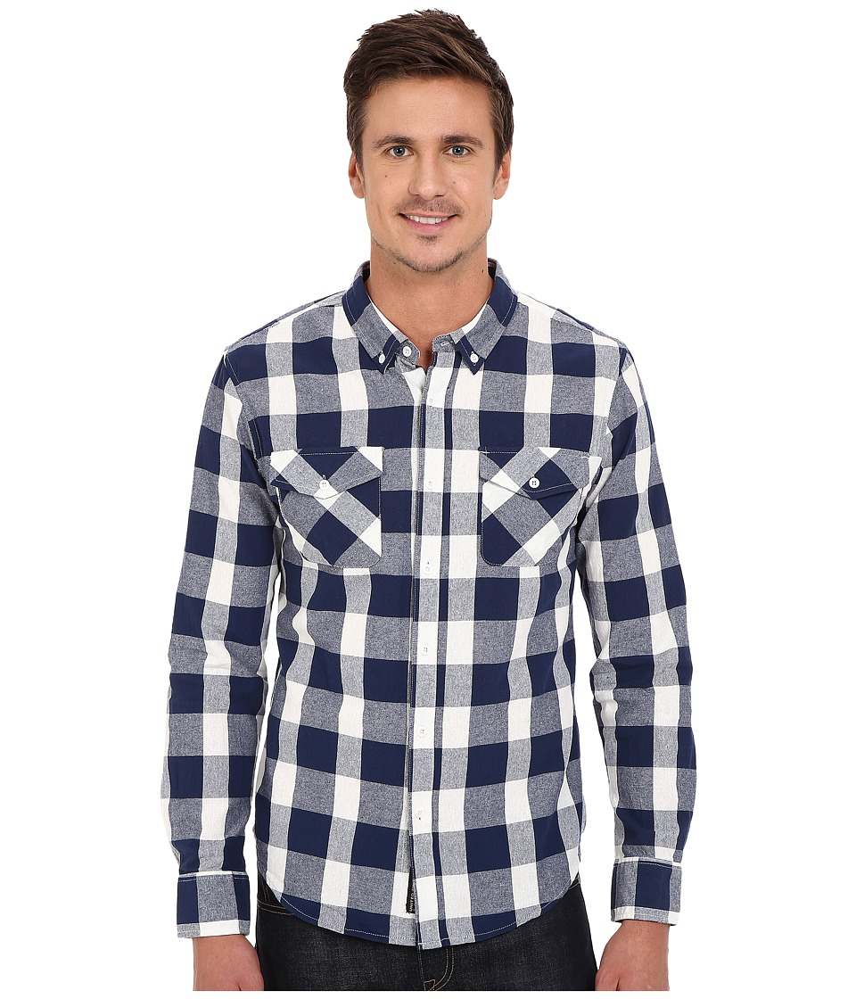 United By Blue - Sansom Plaid (Blue) Men's Clothing