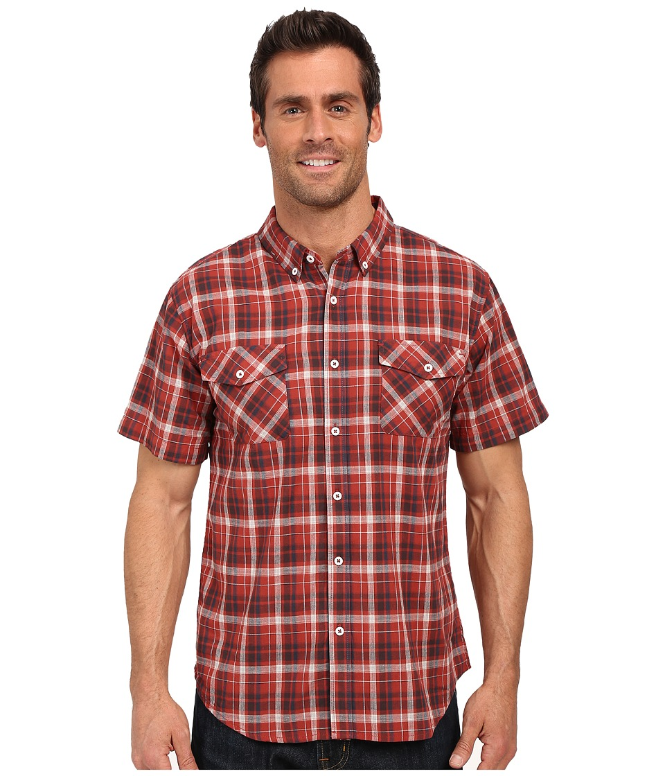 United By Blue - Scots Plaid (Red) Men's Clothing
